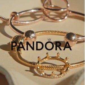 小蜜蜂耳饰$20收PANDORA Jewelry 上新热卖 耳饰、戒指专场 可爱一百分