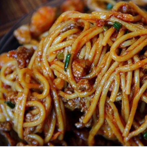 Best for the SummerNoodle with Spicy Meet Sauce