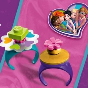 Free Friendship RingsWith $25+ Friends Purchase Over $25 @ LEGO Brand Retail