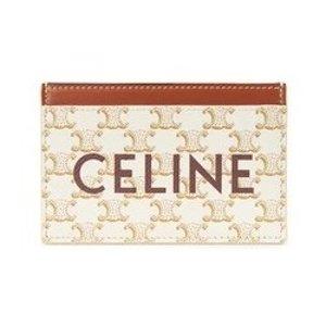£185收封面人气白色老花卡包Celine 钱包卡包专场 百磅入经典设计小皮具 风琴卡包、黑白老花都有