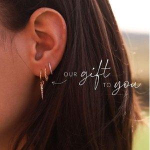 满€148送价值€46封面款耳饰黑五价:Missoma 小众饰品 Gigi都对它爱不释手 入平价香奈儿耳钉
