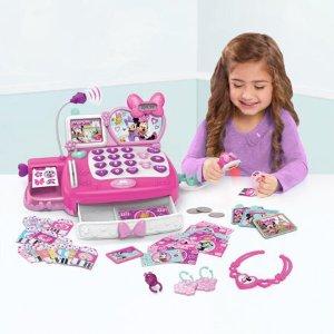 $19.99米妮 Happy Helpers 儿童收银台玩具,含60多配件