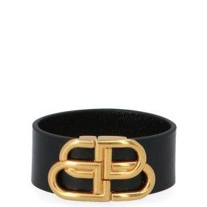 BalenciagaMonogram Plaque Bracelet