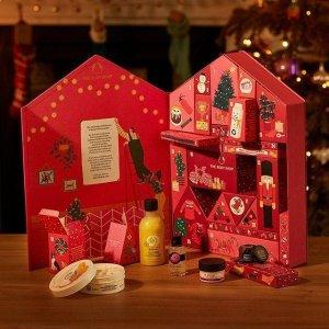€50起收 送礼超赞The Body Shop 2020圣诞日历上市 3款可选