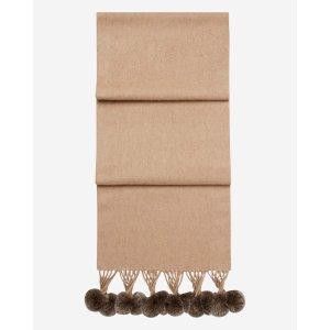 N.PEAL纯羊绒围巾