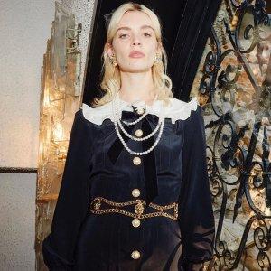 全场7.5折独家:Alessandra Rich服饰热卖,蝴蝶结$190,西装外套$400+