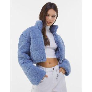 仅剩XS码!2色可选!蓝色短款外套