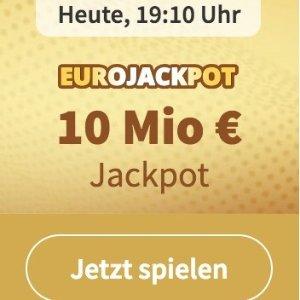 周五开奖 奖金累计1000万欧元EUROJACKPOT 3注只要€2 单车秒变摩托 财务自由在此一搏