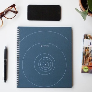 $25.95限今天:Rocketbook Wave 智能可消字笔记本 可入微波炉