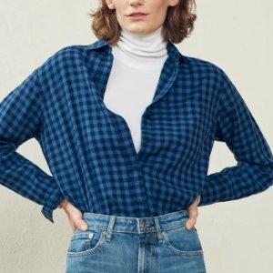 $50收丝滑棉衬衫新品上市:EVERLANE 衬衫抢鲜热卖