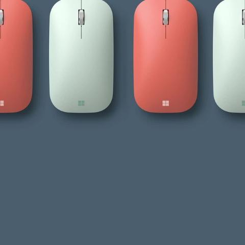 低至5.3折 仅€18.99起收Microsoft Surface 无线蓝牙鼠标 简约时尚 小清新配色