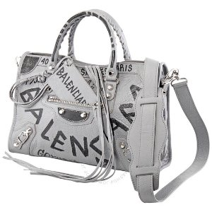 仅$1199.99(原价$2500)上新抢:Balenciaga 涂鸦系列灰色机车包 肯豆同款 变相4.8折