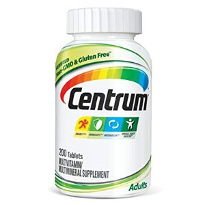 $9.50 Centrum Adult (200 Count) Multivitamin/Multimineral Supplement Tablet, Vitamin D3