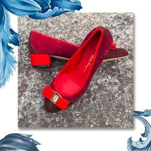 低至5折 $385收芭蕾舞鞋菲拉格慕 官网季中大促 经典蝴蝶小红鞋、气质单肩包热卖