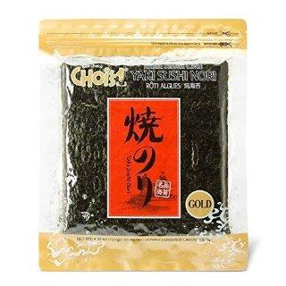$9.99 + 免邮Daechun Sushi Nori 紫菜50片 4.41oz