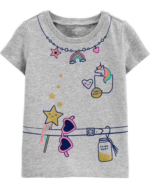 儿童图案T恤
