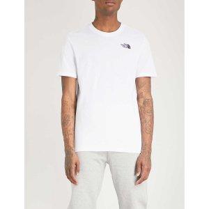 The North FaceLogo-print cotton-jersey T恤