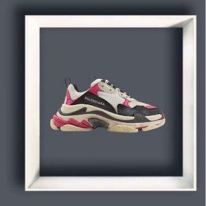 正价8折 £520就收封面款BALENCIAGA 精选潮装特卖 超多款老爹鞋黄金码有货 速抢