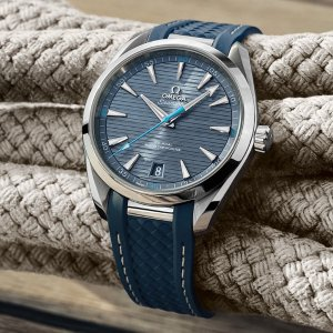 Extra $50 OffDealmoon Exclusive: OMEGA Seamaster Automatic Blue Dial Men's Watch