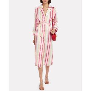 Notes Du NordLiv Striped Shirt Dress