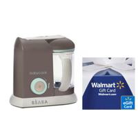 Free $10 Gift CardBaby Food Maker, Bottle Warmer, Bottle Sterilizer @ Walmart
