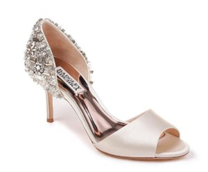 SANDIE EMBELLISHED HEEL EVENING SHOE