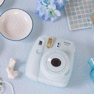 £59.99(原价£73.99)Fujifilm Instax Mini 9 富士迷你拍立得相机+10张相纸