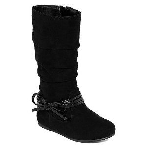 6d2d973cafbd Buy One Get Two FreeOkie Dokie Girls Lil Haven Slouch Flat Heel Boots