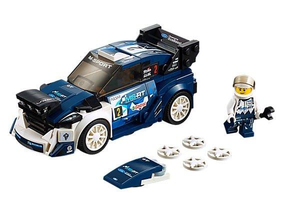 Speed Champions 系列 Ford Fiesta M-Sport WRC - 75885