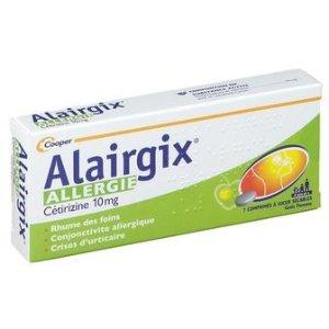 Cooper适合6岁以上Alairgix® Allergie Cetrizine 10 mg 抗过敏药片