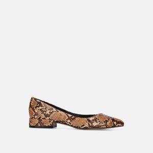 Kenneth Cole Reaction买1送1蛇纹平底鞋