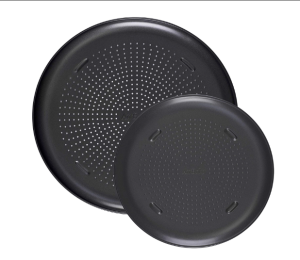T-fal Airbake Nonstick Pizza Pan, Set of 2, 12.75