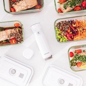 """5.9折起 锁鲜袋仅$1.3/个Zwilling智慧锁鲜系列 App提醒防止食物过期 锁住生活的""""新鲜感"""""""