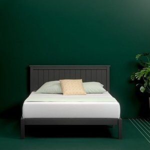 Zinus Wooden Cottage Platform Bed Frame With Headboard 15 Off From