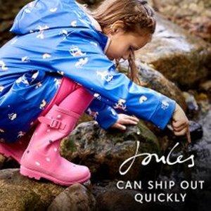 低至5折Joules 英国高品质童装童鞋特卖 可爱田园小清新