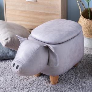小猪收纳凳