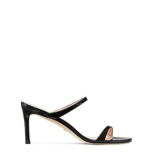 Stuart Weitzman黑色凉鞋