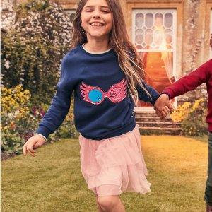 4折起 包邮包退折扣升级:Mini Boden 儿童服饰促销,更多新款加入