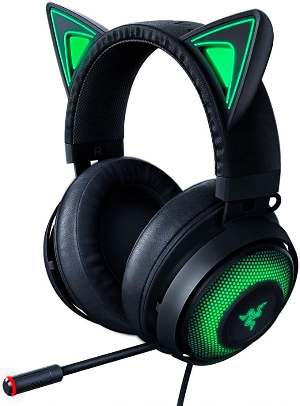 Kraken Kitty RGB 电竞耳机 黑色
