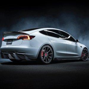 Tesla续航310英里,加速3.2秒Model 3 高性能版本