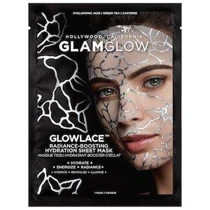 GLOWLACE™  Radiance-Boosting Hydration Sheet Mask - GLAMGLOW   Sephora