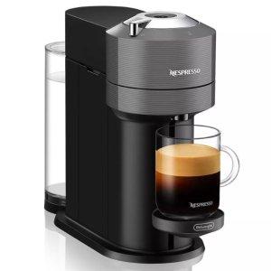 $99 送12颗咖啡胶囊De'Longhi 德龙 Nespresso Vertuo 意式浓缩胶囊咖啡机