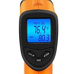 $14.38 (原价$19.97)Nubee 热温枪 -58°F~ 1022°F (-50°C ~ 550°C)