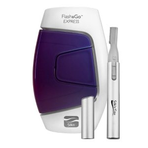 Dealmoon Exclusive! 20% off + Free Trimthe Flash & Go Express Hair Removal Device @Silk'n