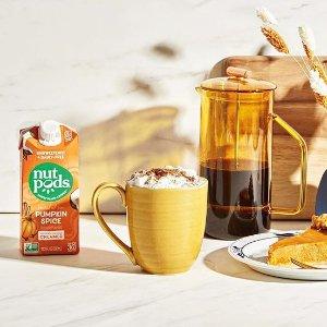 无糖坚果奶$4.99有机咖啡伴侣 杏仁奶、燕麦奶 宅家自制低卡奶茶、网红咖啡