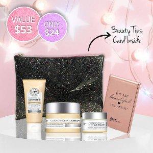 IT Cosmetics Canada面霜+眼霜+洁面 5.5 折!自信护肤套装