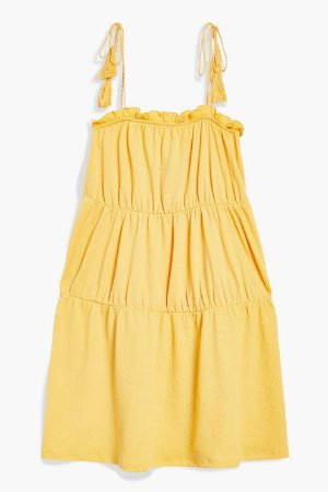 Tassel Tier Sundress - Dresses - Clothing - Topshop USA