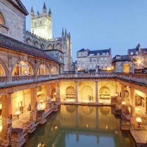 £99含早餐 下单再送£20巴斯四星级酒店热促  送罗马浴场门票