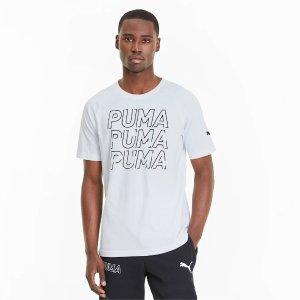 PumaXL XXL清爽字母T恤 多色选