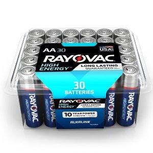 $5.99Rayovac 电池30只装  AA AAA 2款可选